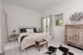 Transformed the bedroom