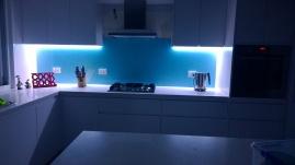 Night Shot Kitchen
